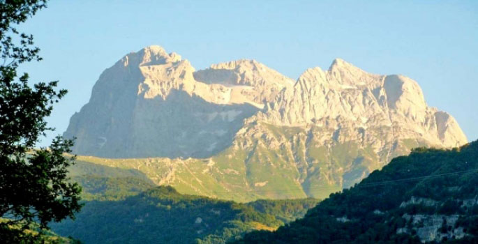 the sleeping giant - the Gran Sasso
